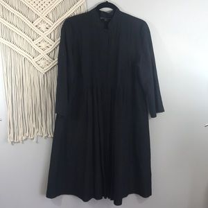 LAFAYETTE 148 NEW YORK Sheer button front duster10
